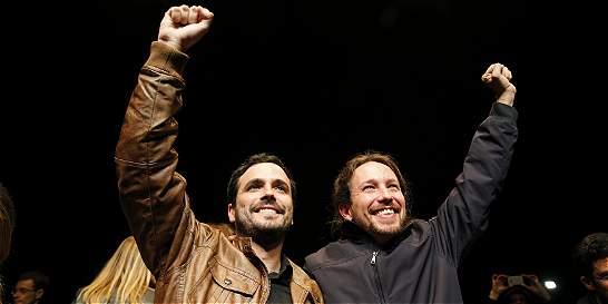 Podemos e Izquierda Unida se unen para las nuevas elecciones en España