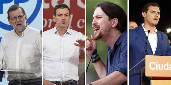 Candidatos españoles se miden en debate de cara a las parlamentarias