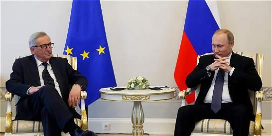 Rusia y la Unión Europea buscan limar asperezas en San Petersburgo