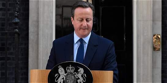 David Cameron anuncia su dimisión tras victoria del 'brexit'