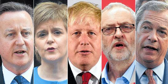 Los protagonistas del 'revolcón' británico