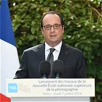 """Hollande dice que Rusia es """"un socio"""", no """"una amenaza"""""""