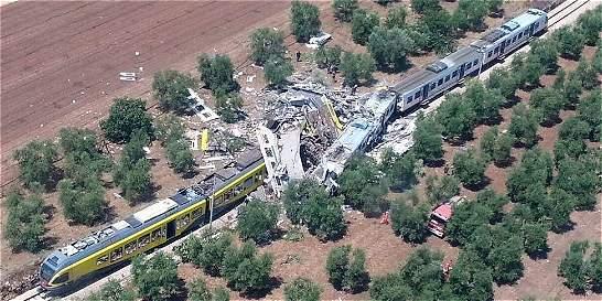 Accidente en tren de Italia deja al menos 23 muertos