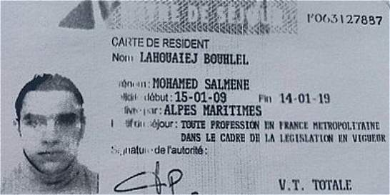 Muy violento y poco religioso, el perfil del terrorista de Niza