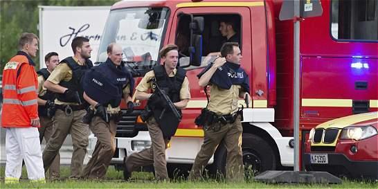 Así reportan en redes sociales el tiroteo en Alemania