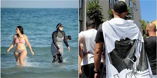 Se extiende el veto al burkini en las playas de Francia