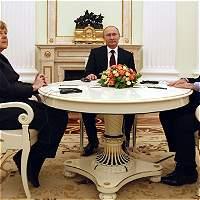 Putin, Merkel y Hollande se reunirán para hablar de Ucrania