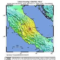 Un sismo de 6,2 golpea el centro de Italia
