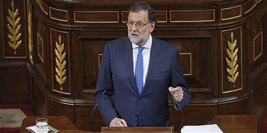 Rajoy reivindicó su victoria electoral en España