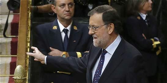 Parlamento rechaza de nuevo reelección de Rajoy como jefe del Gobierno
