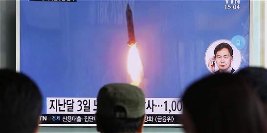 Onu condena el lanzamiento de 3 misiles por parte de Corea del Norte