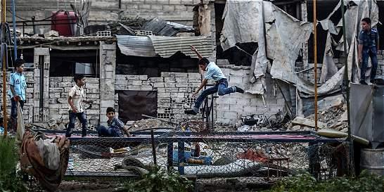 La ayuda humanitaria sigue sin llegar a Alepo, Siria