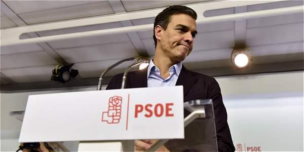 El Psoe discute para elegir sucesor de Pedro Sánchez