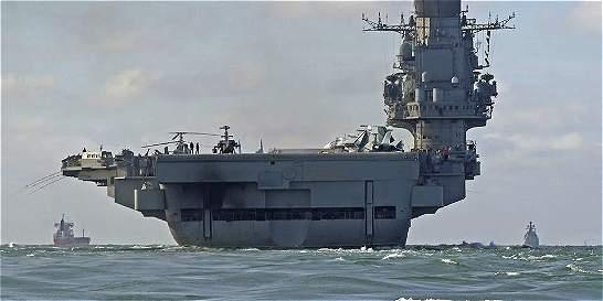 España no dejó hacer escala a flota de guerra rusa que va hacia Siria