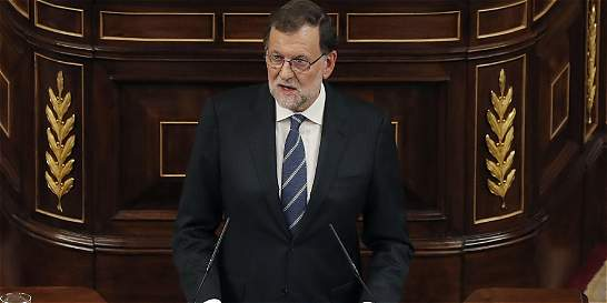 Mariano Rajoy se muestra conciliador ante el Congreso español