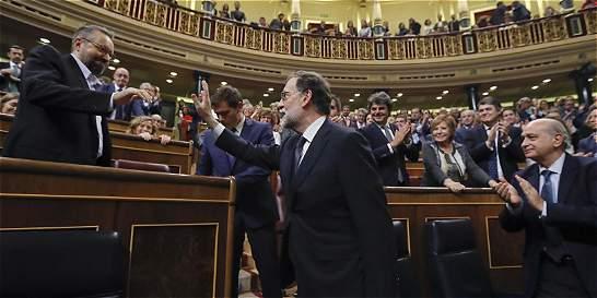 Mariano Rajoy, reelegido jefe del Gobierno español por el Congreso