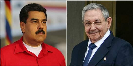 Maduro y Raúl Castro, en la lista de 'depredadores' de la prensa