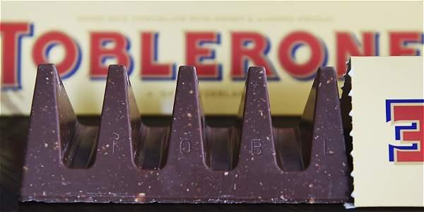 Británicos protestan por la nueva presentación del chocolate Toblerone