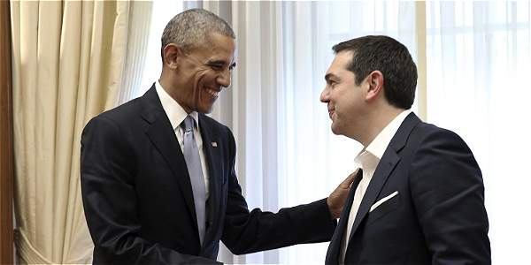 Obama y Tsipras