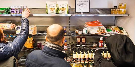 Así es la venta de comida vencida en Dinamarca