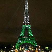 La foto falsa del homenaje de la torre Eiffel a Chapecoense