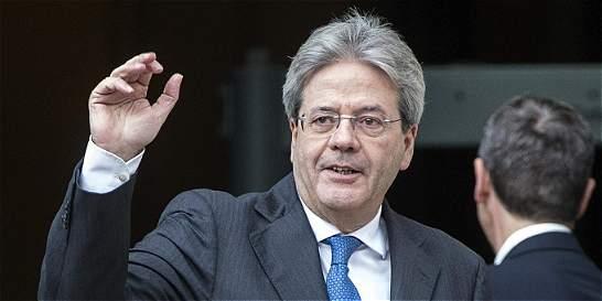 Gentiloni acelera para recibir investidura antes del Consejo Europeo