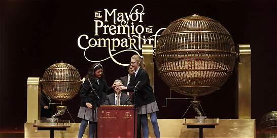 El número 66.513, premiado con el Gordo de sorteo de Navidad en España