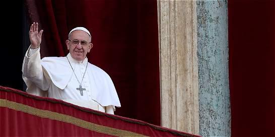 Papa Francisco pide 'concordia para el querido pueblo colombiano'