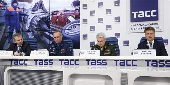No hubo explosión en el avión ruso accidentado en el mar Negro
