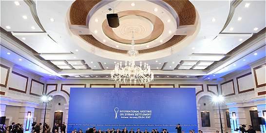 Primer día de negociaciones en Astaná, sin resultados promisorios