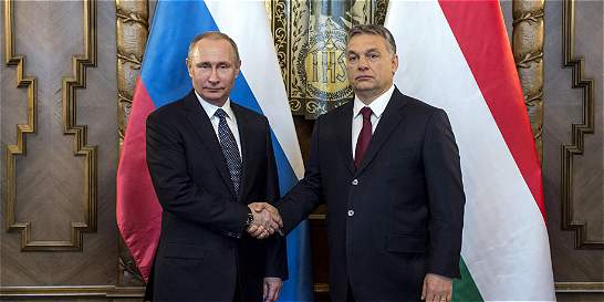Vladimir Putin refuerza su alianza con el primer ministro húngaro