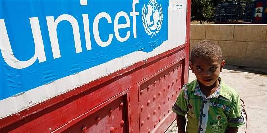Unicef denuncia la muerte de 190 menores en los últimos tres meses