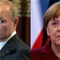 Putin y Merkel piden un cese de hostilidades en el este de Ucrania