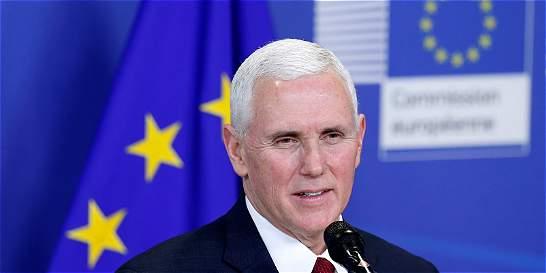 'Vice' de EE. UU. confirma en Europa su apoyo a la Otán