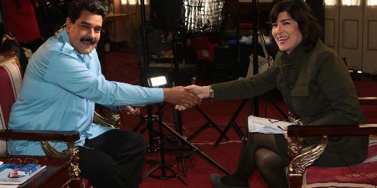 En CNN, Maduro reitera que Venezuela 'no necesita mediación'