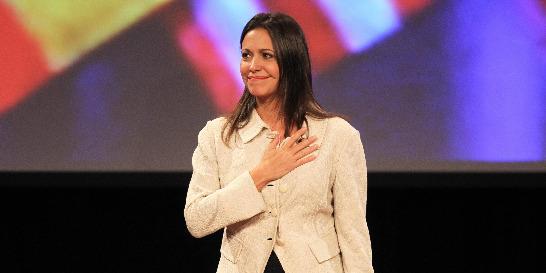 María Corina Machado anunció desde Lima que mañana volverá a Venezuela