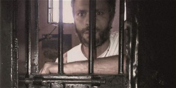 Foto publicada este 8 de junio muestra a Leopoldo López en prisión.