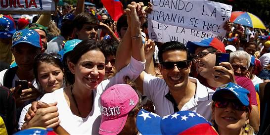 Marchas en Venezuela en repudio a Maduro y por liberación de detenidos