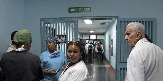 La violencia hace cerrar urgencias de hospital venezolano