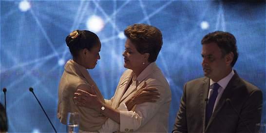 Marina Silva propone una Brasil multisectorial en primer debate por TV