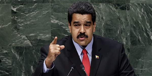 Nicolás Maduro durante su discurso en la Asamblea de la ONU, realizada en Nueva York.