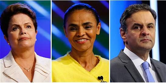 Elecciones en Brasil: Neves se iría a segunda vuelta con Rousseff