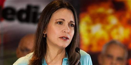 María Corina dice que la imputan 'por llamar las cosas por su nombre'