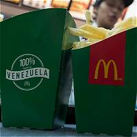 Escasez en Venezuela deja sin papas fritas a clientes de McDonald's