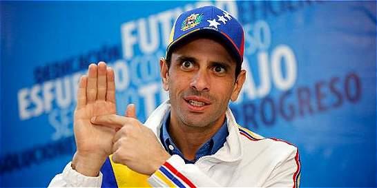 Henrique Capriles llama a movilizarse contra el Gobierno