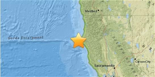 Sismo de magnitud 5,7 se registró en la costa de California