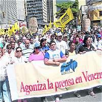 La prensa libre, entre tenazas en Venezuela