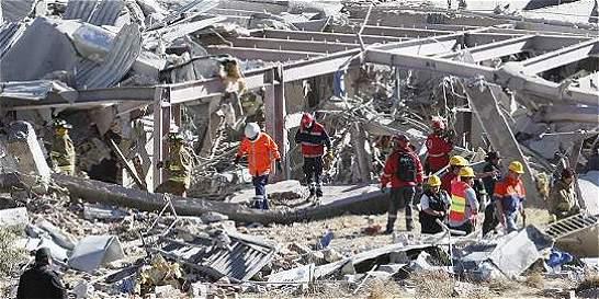 Se eleva a cinco los muertos por la explosión en  hospital de México