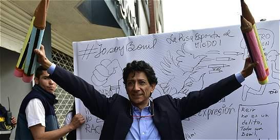Amenazan de muerte a ecuatoriano 'Bonil' por caricatura sobre el Islam