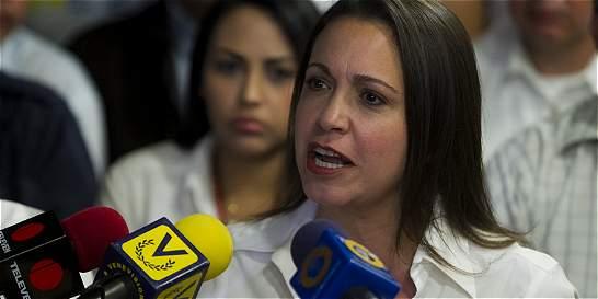 'En Venezuela no se necesita delito para ir preso': María Machado